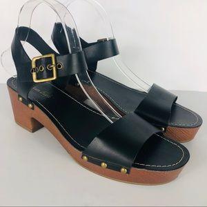 American Eagle Block Heeled Sandals